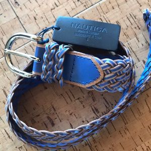 NWT Leather Nautica Belt